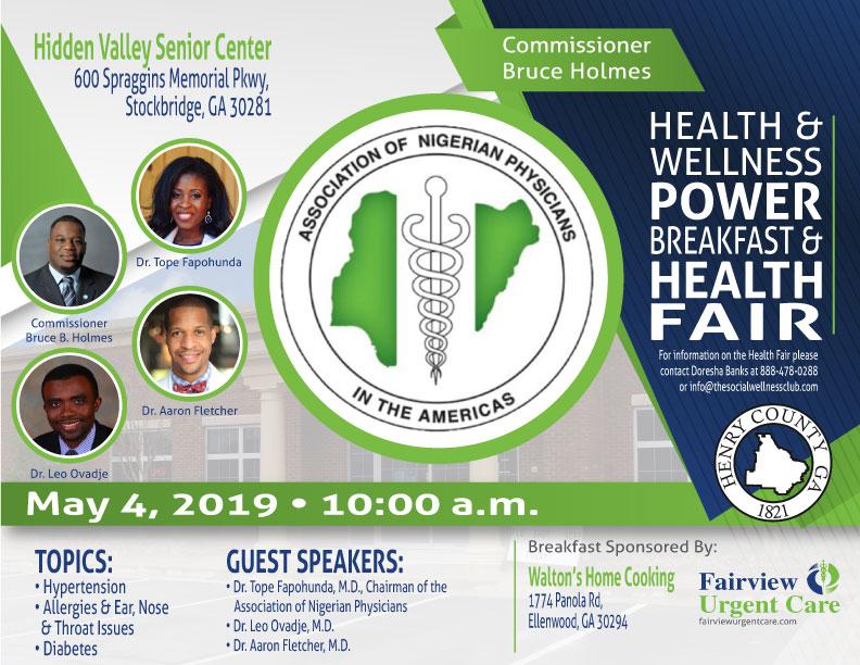 ANPA Health Fair